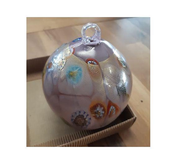 Pallina di Natale in vetro di Murano