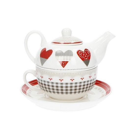 Egan Teapot Tea for two