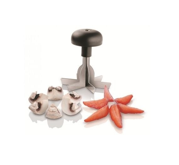 Paderno tool for cutting food into six equal parts