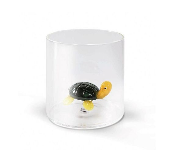 Wd Lifestyle Glass tumbler with animals