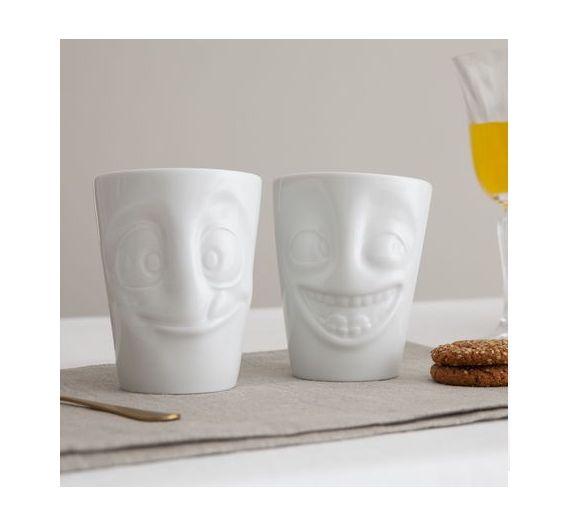 Set 2 Mug 350 ml Tassen Grumpy Impish