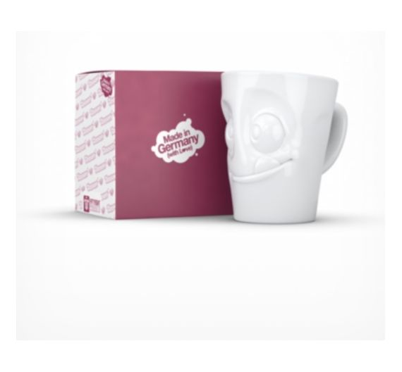 Tazza bianca Bowl da 500 ml Tassen Tasty
