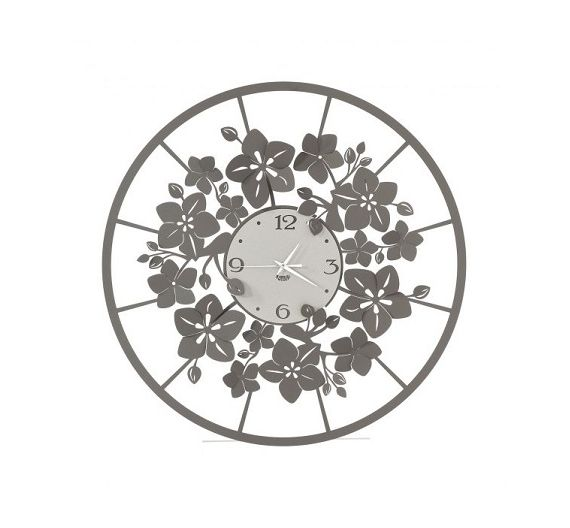 Arti e Mestieri orologio da parete Full Moon bianco