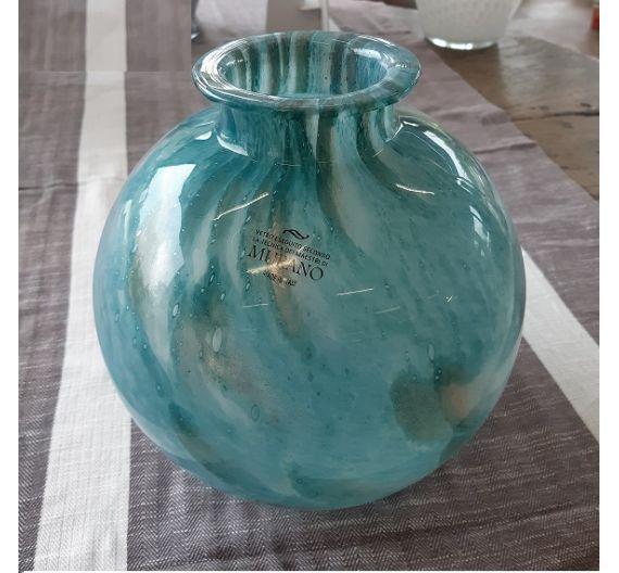 Murrina Murano large sphere vase