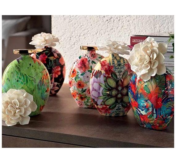 Brandani Ebrezza diffusore profumo con fiore