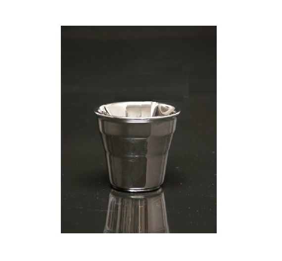 Seletti Estetico Quotidiano silver coffee cup