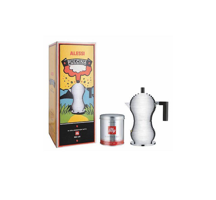 Alessi pulcina caffettiera moka 3 tazze mdl02 3 cose da casa for Alessi casa