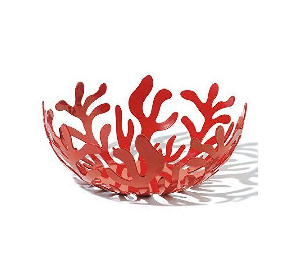 ALESSI Maditerraneo cestino rosso d.21 ESI01/21R