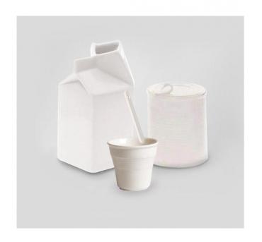 Sugar bowl and milk jug