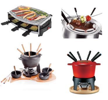 Raclette and fondue